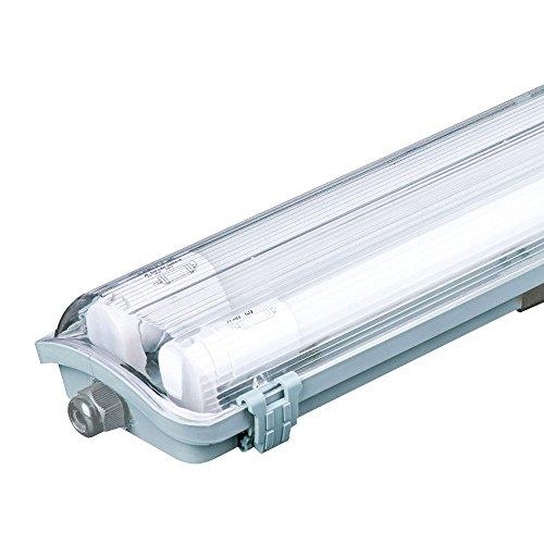LED 36 Watt Decken Halle Leuchte Röhren Wannen Lampe Werkstatt Strahler 6400 K Tages-Licht VTAC 6399