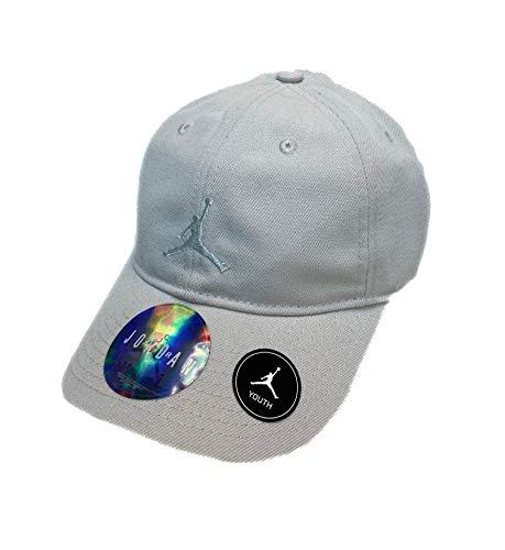 Nike Boy`s Air Jordan Baseball Cap (8/20, Light Bone)