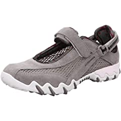 The Shock Absorber system reduces the impact created from every step protectiong joints. The removable, anatomical footbed ensures a soft and supple feeling. Ultra-light design. Innovative technology for tailor-made comfort. Grey item package weight:...