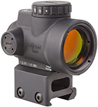Trijicon MRO-C-2200005 1x25mm Miniature Rifle Optic (MRO) Riflescope with 2.0 MOA Adjustable Red Dot Reticle with Full Co-Witness Mount