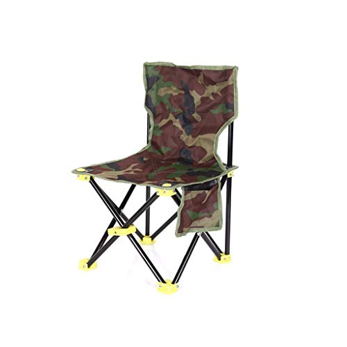 LHY DECORATION Tragbare Stühle Klappstühle Mit Tragetasche Heavy Duty Für Camping Im Freien Wandern Picknick Ultraleichte Camouflage Strandstühle, M