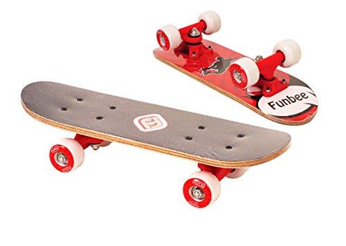Darpeje Outdoor OFUN247R rolig liten trä skateboard, färgsorterad