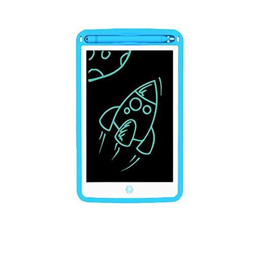 Tabletas de escritura LCD, 8.5 pulgadas para niños, digitales, electrónicas, tablillas de dibujo portátil, borrables a mano, mini tablas para niños (versión monocromática)