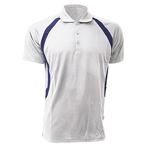 GAMEGEAR Polo Cooltex® Riviera pour Homme (XL) (Blanc/Bleu Marine)