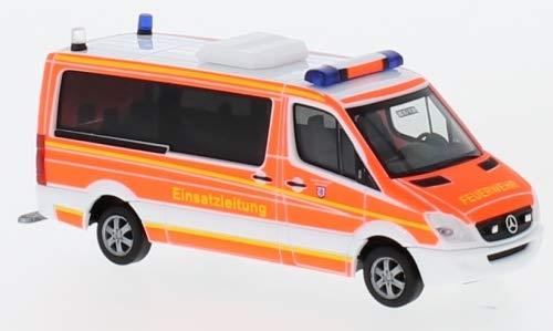 Mercedes Sprinter, Feuerwehr Ingolstadt, 2006, Modellauto, Fertigmodell, Herpa 1:87