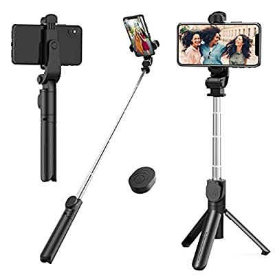 Selfie Stick Tripod,Mini Extendable Tripod Stand Phone Selfie Stick