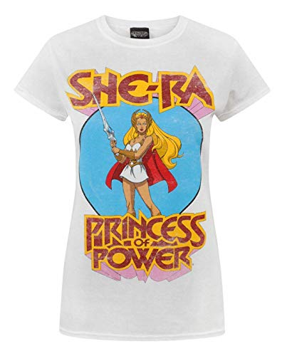 * Bestseller * Official She-Ra Princess of Power T-shirt for Ladies, S to XXL