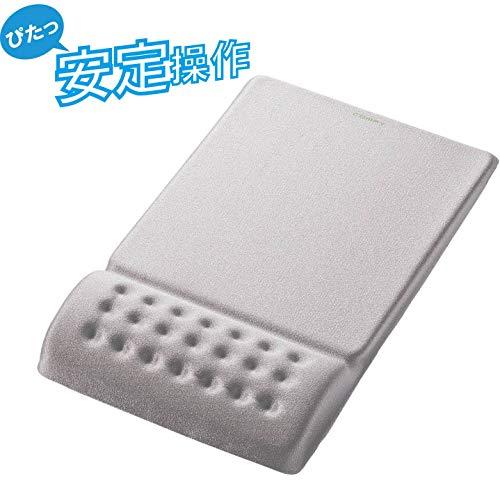 エレコム カンフィー シリーズ マウスパッド グレー MP-095GY COMFY ELECOM [8626]