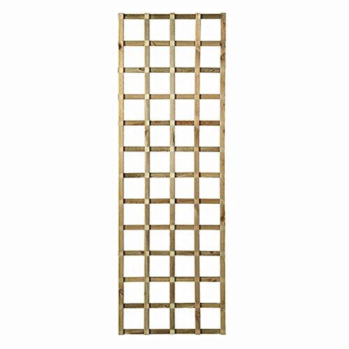 forest-style 262989, Spalier Yota, 180 x 60 x 12 cm, beige Kiefer druckimprägniert