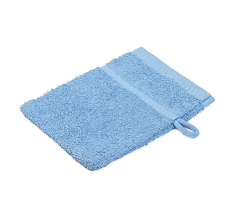 Gözze 7881-53-A1 Gants et carrés de Toilette Bleu