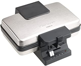 Cuisinart WM-PZ2FR Brushed Stainless Pizzelle Press (Renewed)