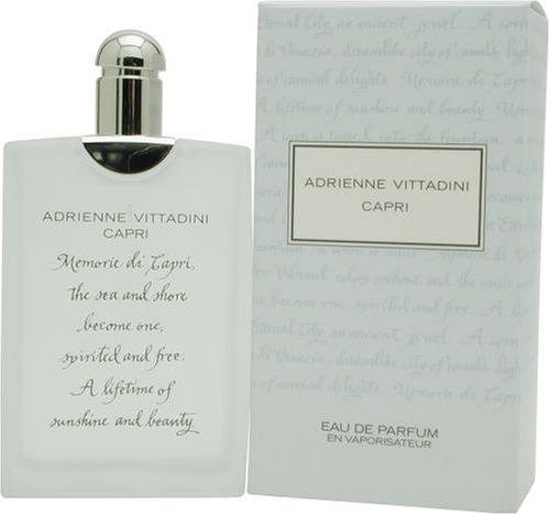 CAPRI von Adrienne Vittadini für Damen. EAU DE PARFUM SPRAY 3.4 oz / 100 ml