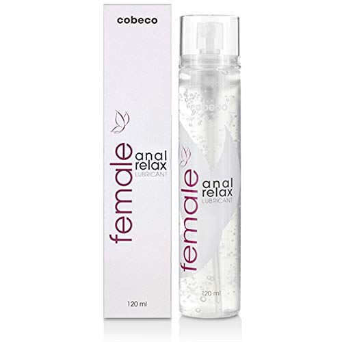 Cobeco Female Anal Relax 120 ml Lubricant – spezielles Gleitgel für Analverkehr Anfänger-Empfehlung