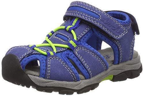 Lurchi Unisex-Kinder Boris Geschlossene Sandalen, Blau (Cobalt 42), 27 EU