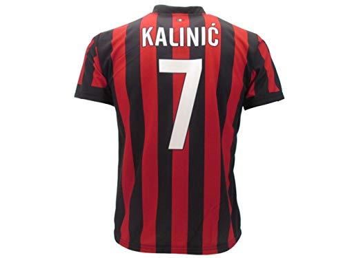 """Camiseta réplica oficial """"KALINIC 7"""" A.C. Milan 2017/2018 (10 años)"""