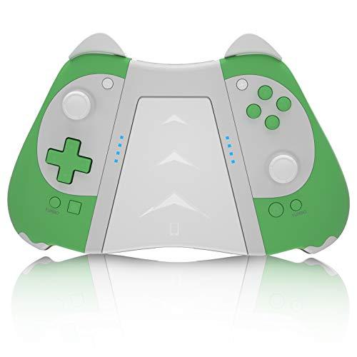 Kingear, controller adatto per Nintendo Switch, regalo per uomo/donna, senza fili, di ricambio per controller bellissimo controller per giochi per PC senza fili con funzione Macro/Turbo/vibrazione