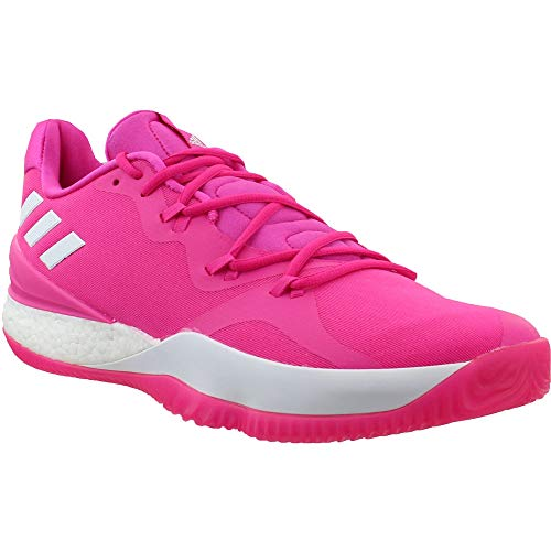 adidas Mens Crazylight Boost Low 2018 X BCA Basketball Sneakers Shoes Casual - Pink - Size 16 D