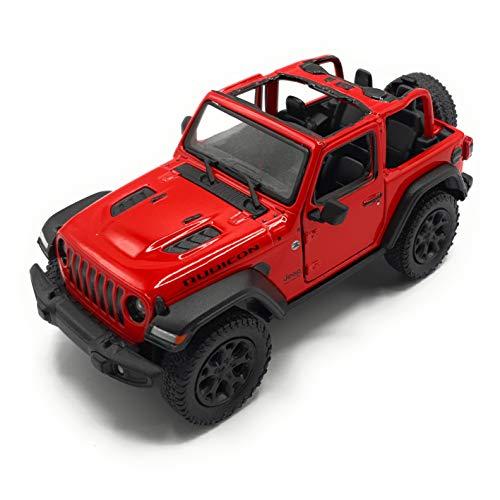 K Collection de coches en miniatura Wrangler Jeep (rojo)