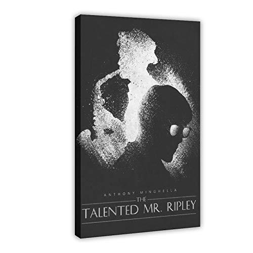 Póster de película The Talented Mr. Ripley - Póster de pared para sala de estar, dormitorio, marco de decoración de 60 x 90 cm