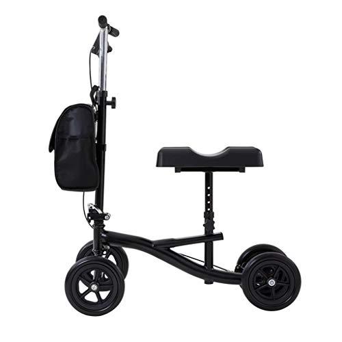 Accesorios para andadores con Ruedas Knee Walker Knee Scooter Knee Walker Cart Roller Cart Carre De Aluminio Fractura De Pie Fractura Ayuda Ayuda A La Ayuda para Los Discapacitados