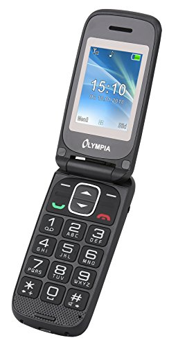 Olympia 2250 Classic Mini II Mobiltelefon-/ Seniorenhandy, anthrazit