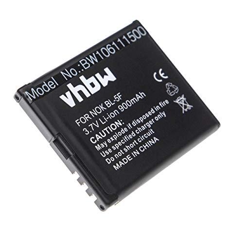 vhbw Akku kompatibel mit Bea-fon S30, S31, S31 EU001B, SL670 Handy Smartphone Handy (900mAh, 3,7V, Li-Ion)