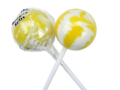 Original Gourmet Lollipops, Banana Split, (Pack of 30)