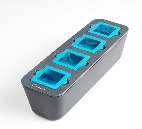 Metrokane Rabbit Clear Ice Cube Tray, Gray - R4-01511