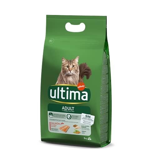 Ultima Pienso para Gatos Adulto con Salmón - 3kg