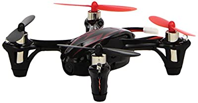 Hubsan X4 H107C 2.4G 4CH RC Quadcopter With 0.3 MP Camera RTF - Black/Red from Hubsan