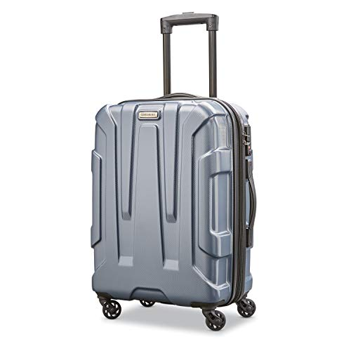 Samsonite Centric Hardside Expandable Luggage with Spinner Wheels, Blue Slate, Carry-On 20-Inch
