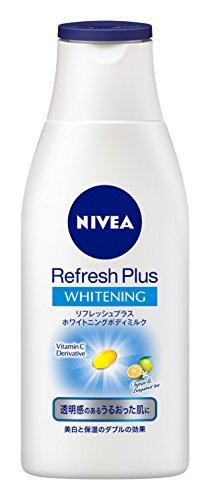 ニベア花王 NIVEA『ニベア リフレッシュプラスホワイトニングボディミルク』