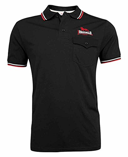 Lonsdale Poloshirt LYNTON Men Slim Fit Poloshirt - black Größe XXL