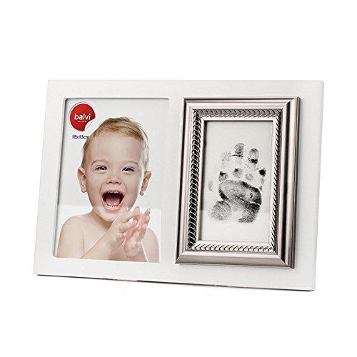 Regalos originales para bebé Portafotos Marco Cuadro HUELLA dactilar GRABADO para nacimiento...