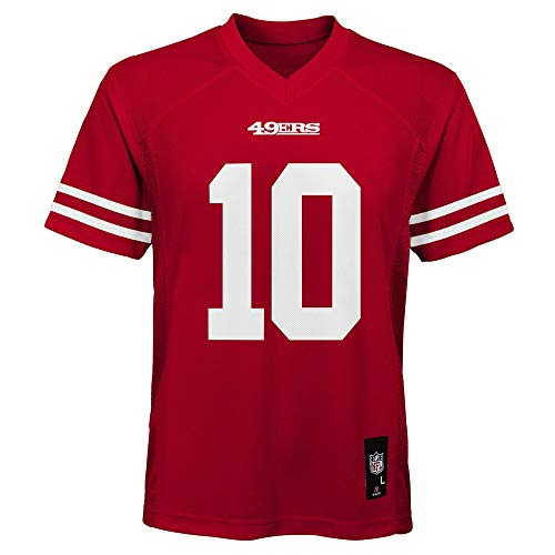 Jimmy Garoppolo San Francisco 49ers NFL Toddler 2-4 Red Home Mid-Tier Jersey (Toddler 4T)