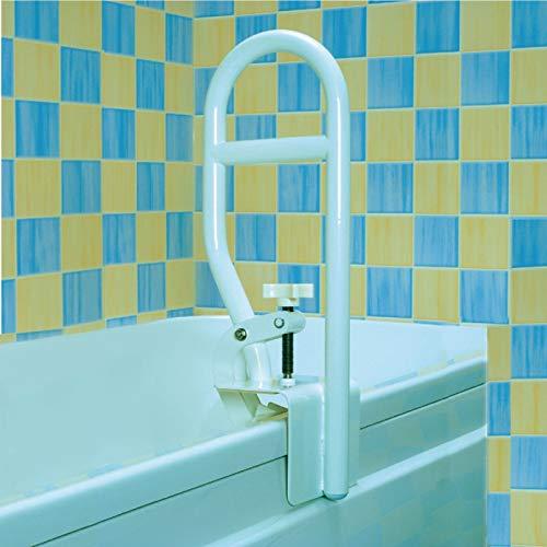Homecraft Stabile Badewanne Haltegriff, Clamp On Rail für Badewanne, Altenwohn Werkzeug Assist, die zu Hause Badezimmer Sicherheits-Befestigung Griff, Behinderte, Verletzung, oder Post-Op