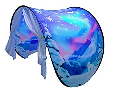 Dream Tents Winter Landscape Bed Canopy for Children.