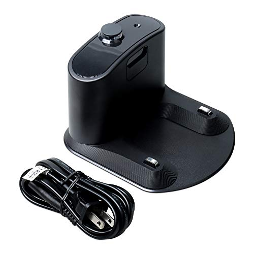 SDFIOSDOI Piezas de aspiradora Base de Carga Fit Fit for Irobot Fit para Roomba 5 6 7 8 9 Series 595 620 655 780 880 860 870 805 980 960 Soporte de Cargador de Piezas de la aspiradora