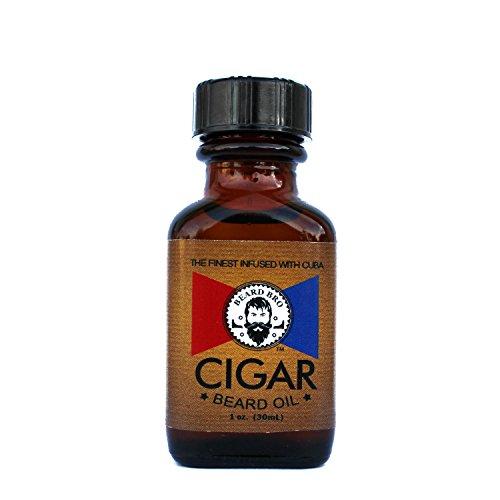 Beard Oil for Men Cuban Cigar Scented Beard Softener 1 oz. for Your Beard Grooming Kit and Men Gift Set