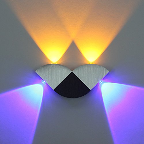 Deckey Modern Aluminum 4W LED Light up Down Lampada Applique di Fissaggio da Parete per Camera da Letto Soggiorno corridoio Portico Indoor Decor Illuminazione