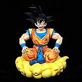wwbfdc Figura De Anime Dragon Goku Sitting Pose Series Vol.1 Ball Son Anime Ver Edición Limitada 39C...
