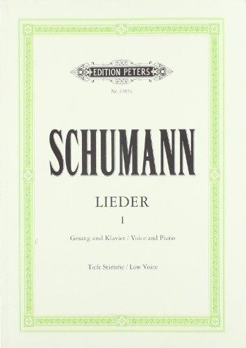 Lieder in 3 Bänden, Urtext, Band 1: Tiefe Singstimme / (für Gesang und Klavier)