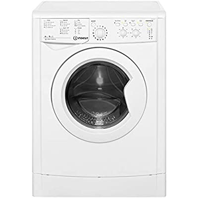 Indesit Eco Time IWDC6125 6Kg / 5Kg Washer Dryer with 1200 rpm - White