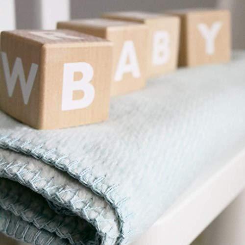 kids&me Bio-Baumwolldecke für Babys - Babydecke fair&ökologisch hergestellt in Deutschland - OEKO-TEX zertifiziert