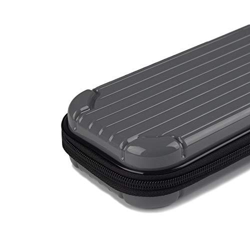 MeterMall CE Draagbare Opbergtas voor Switch Lite PC Game Console Waterdichte Schokbestendige Overall Beschermende Cover Travel Shell Grijs