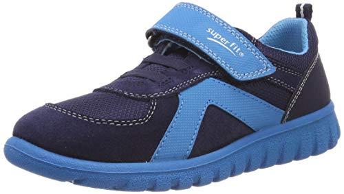 Superfit Baby Jungen SPORT7 Mini Lauflernschuhe, Blau (Blau 80), 35 EU