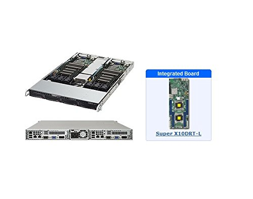 Supermicro 6018TR-T, Intel C612, LGA 2011 (Socket R), Intel, Intel® Xeon®, E5-2600, 9,6 GT/s