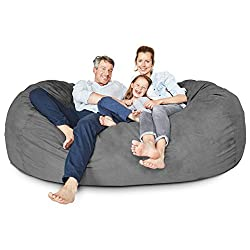 Awesome The Best 10 Giant Bean Bags Chairs In 2019 Merchdope Short Links Chair Design For Home Short Linksinfo