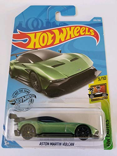 Hot Wheels 2019 Hw Exotics Aston Martin Vulcan 235/250, Green