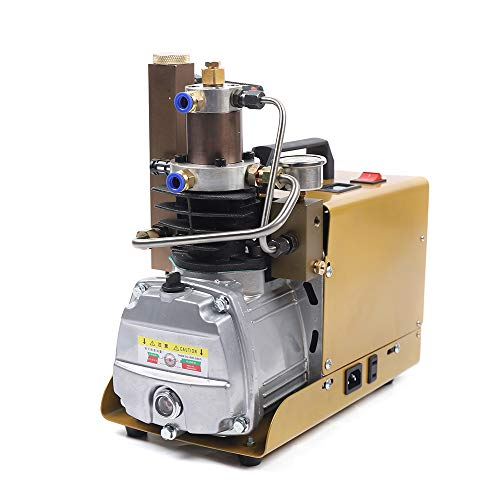 220V Compresor De Aire PCP Eléctrico De Alta Presión Bomba De Buceo 30MPa 4500PSI Para Cilindro De Buceo